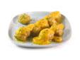 Albondigas de pechuga de pollo en salsa de zanahorias