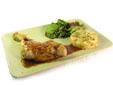 Muslos de pollo a la plancha con guarnición de cuscús