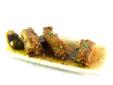 Costillas de cerdo en salsa agridulce con refresco de cola