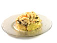 Ensalada templada de alubias con acelgas y patatas